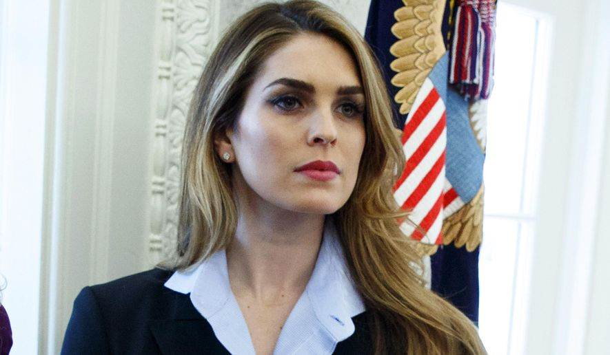 Hope Hicks to cooperate in Trump probe, House Democrats say