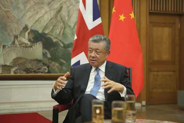 South China Sea needs peace, stability: Chinese ambassador to UK