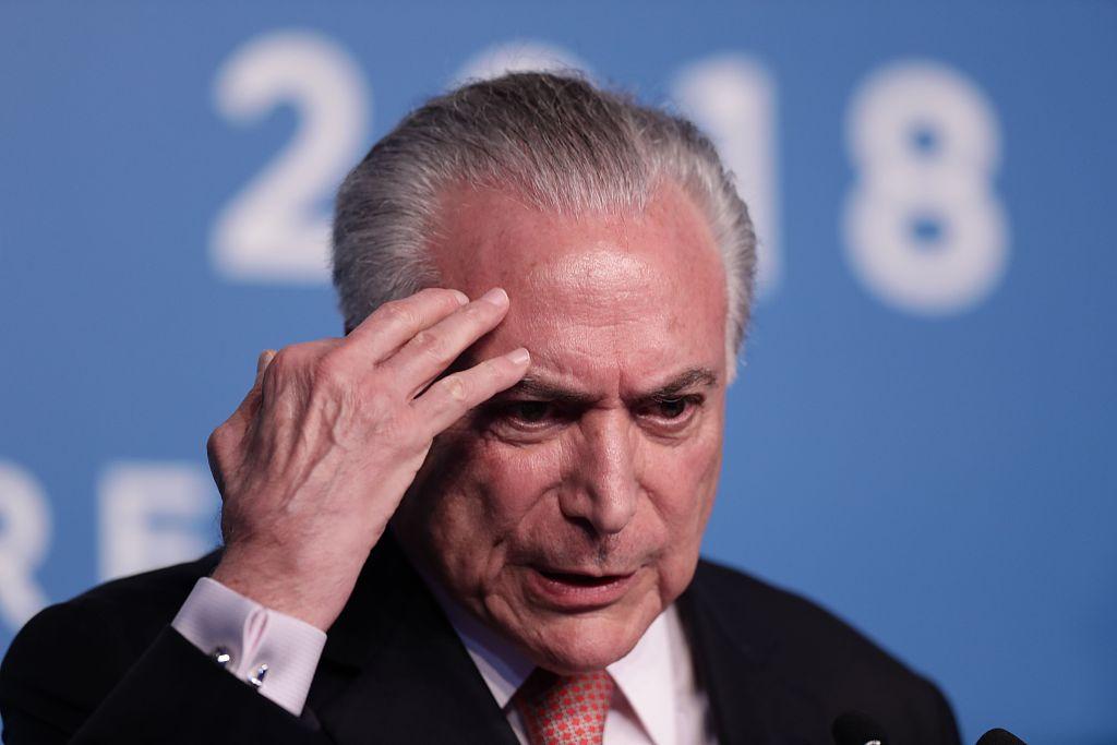 Brazil's ex-President Michel Temer arrested in corruption investigation