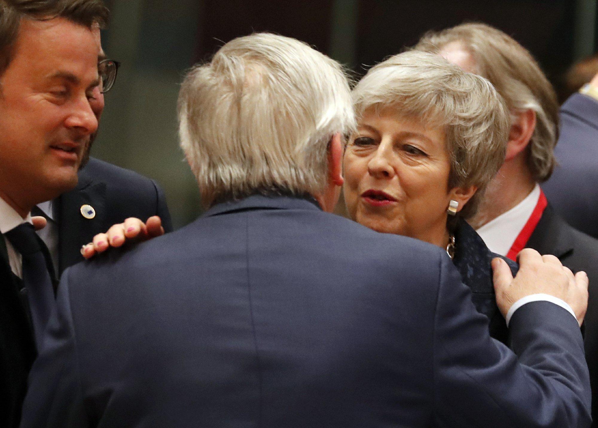 EU chief says bloc decides on Brexit response