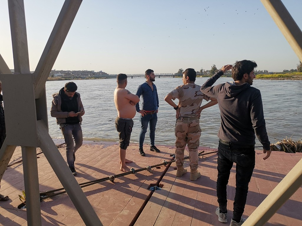 At least 54 dead as ferry sinks in north Iraq: officials
