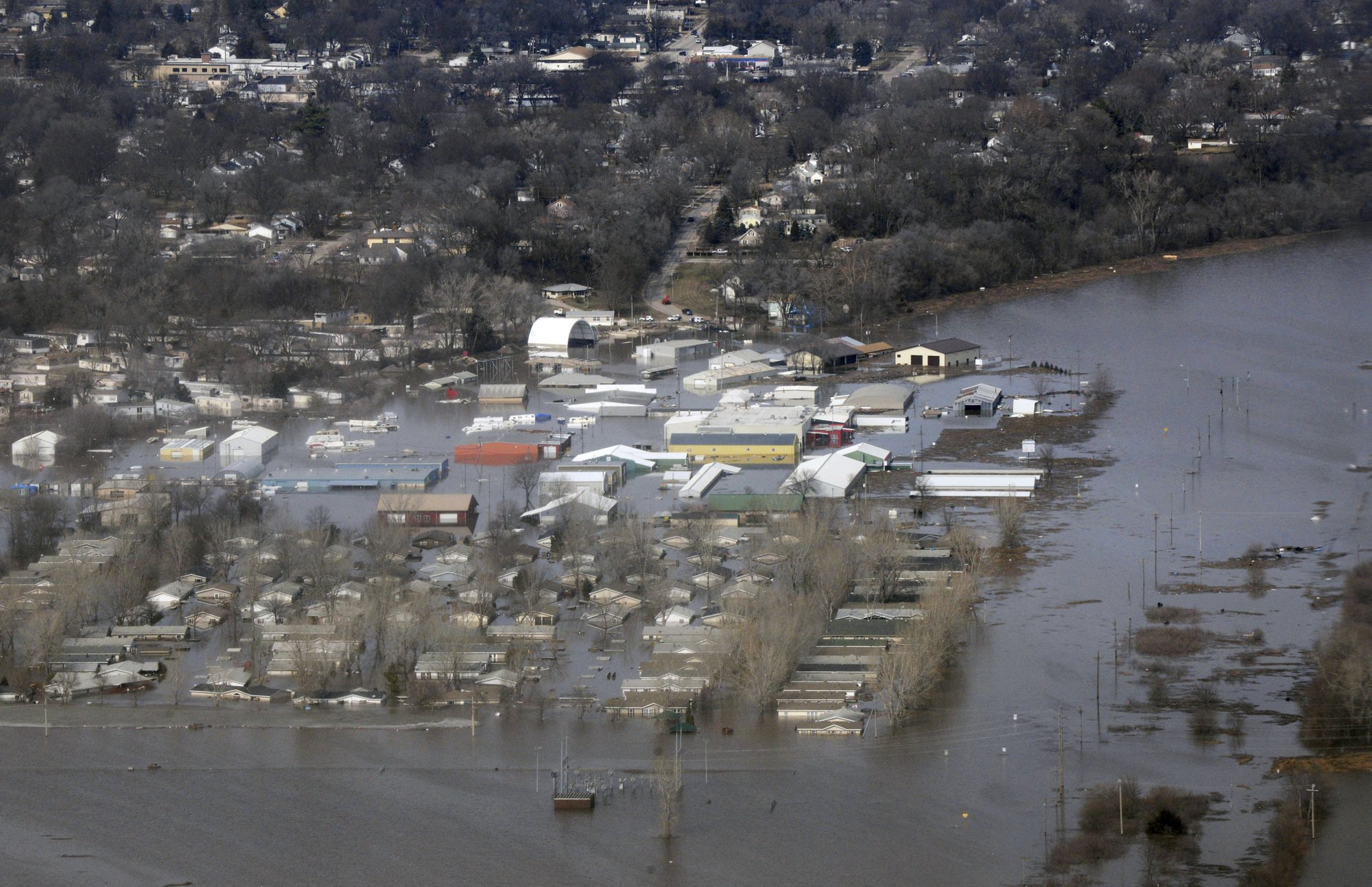 Floods suggest national security threat from climate change