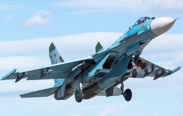 Russian fighters escort US strategic bombers over Baltic Sea