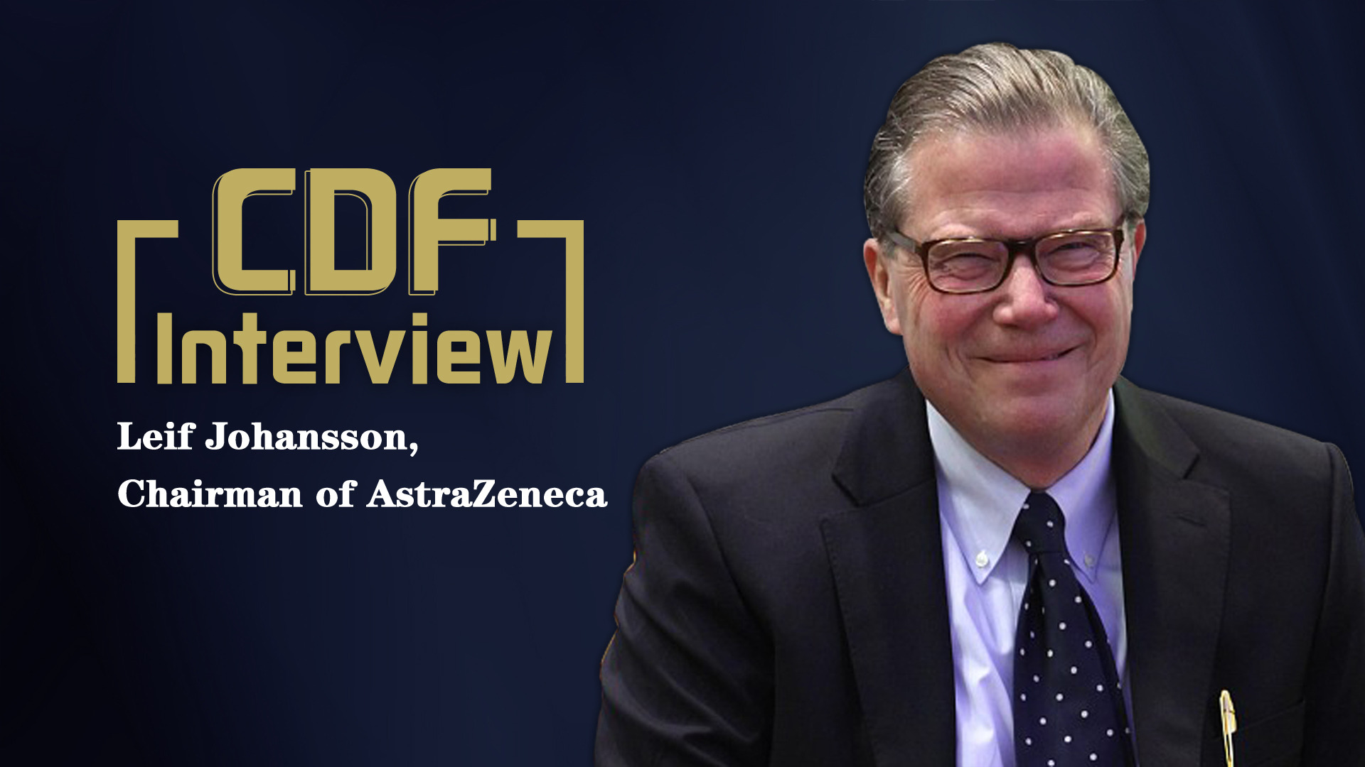 AstraZeneca's chairman is optimistic about China's healthcare market
