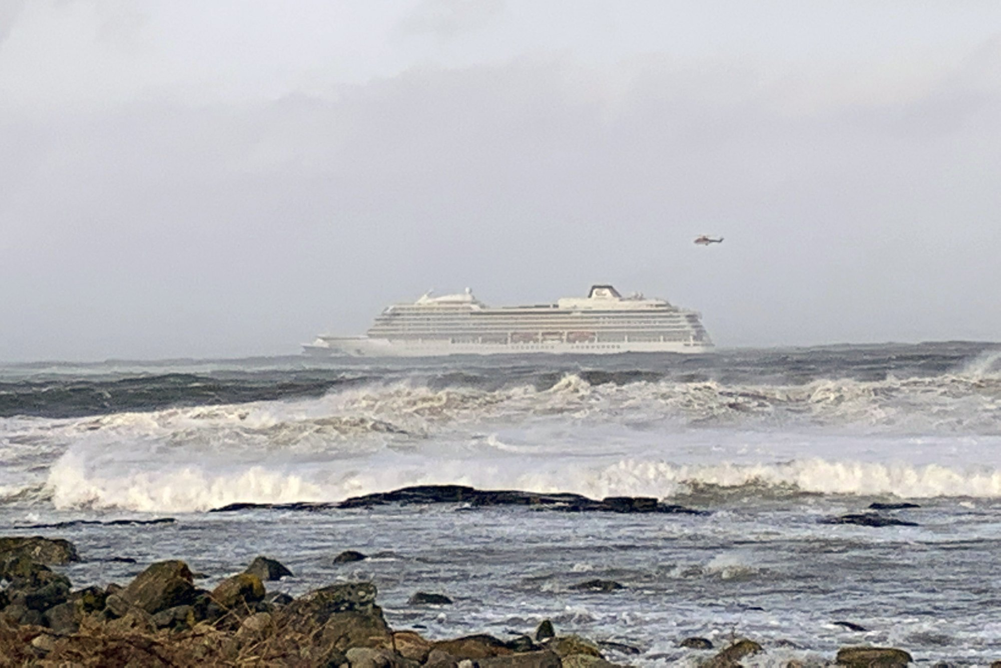 2nd ship needs rescue off Norway's western coast