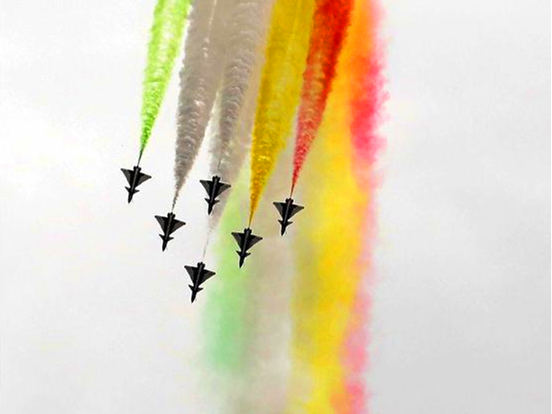 Pakistan holds air show to celebrate National Day