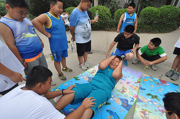 Beijing tackles child obesity, short-sightedness