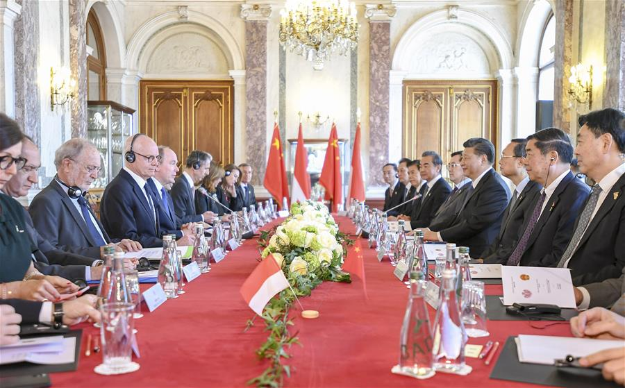 Xi holds talks with Prince Albert II on strengthening China-Monaco ties