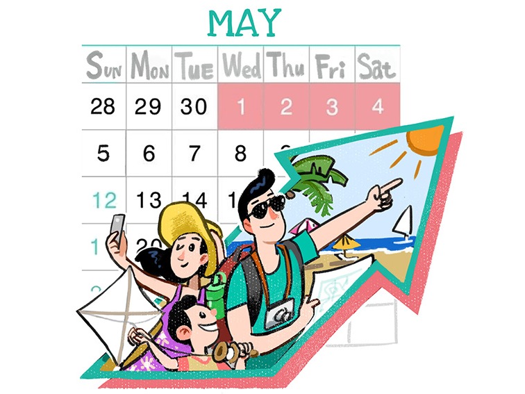 May Day holiday boost for tourism