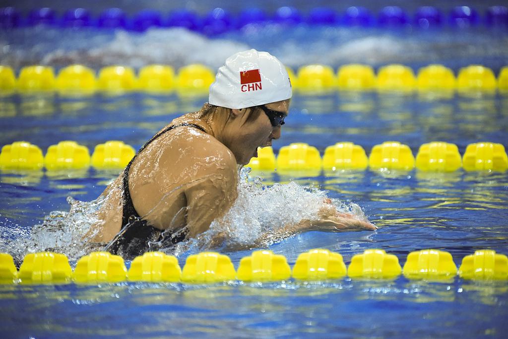 Olympic champion Ye dominates women's 200m individual medley