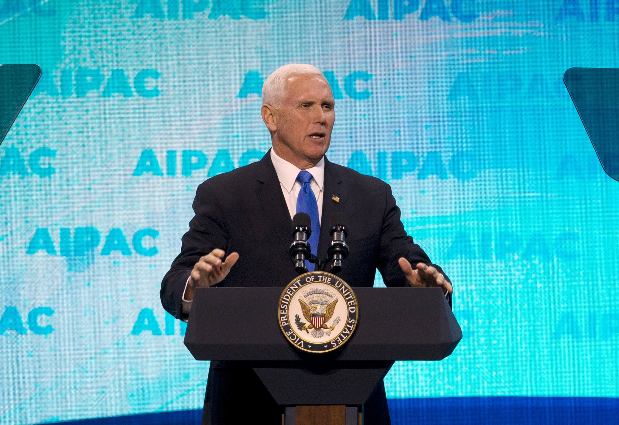 Pence: Gaza attack shows Hamas can't be partner for peace