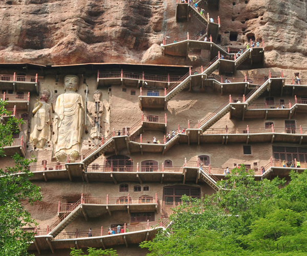 China uses drones to protect ancient grottoes