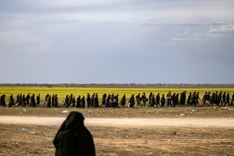 Syria's Kurds call for international court to try IS jihadists