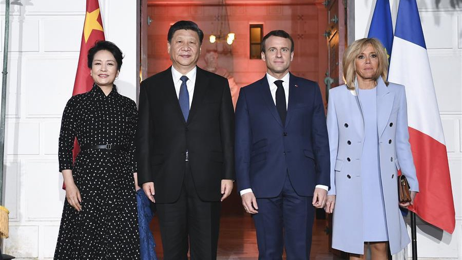 China, France vow to uphold multilateralism, Paris climate accord