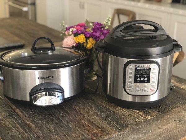 Kitchen Smarts: Slow cooker or Instant Pot?