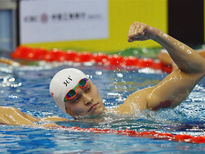 Olympic champion Sun Yang roars to world's best 2019 time in 800m freestyle