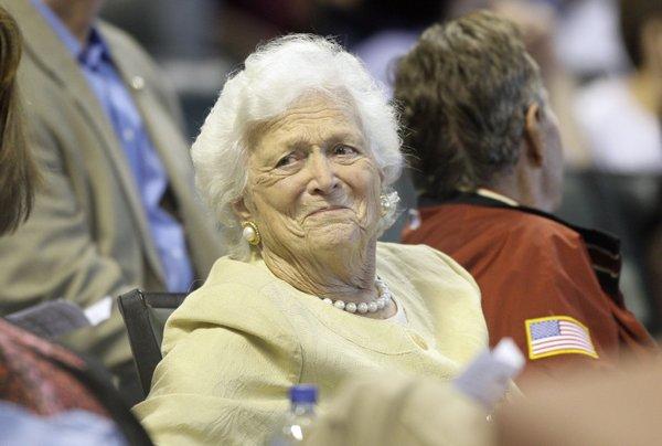 Barbara Bush blamed Trump for 'angst,' new book reveals