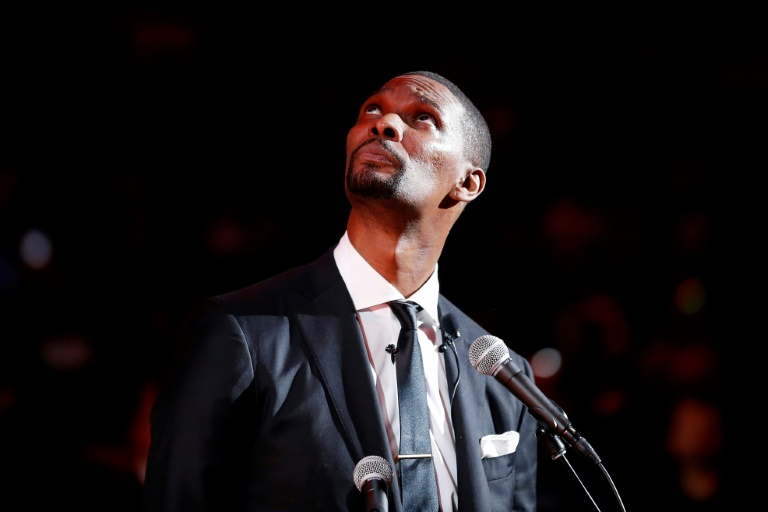 Bosh 'at peace' with retirement as Heat retire his number