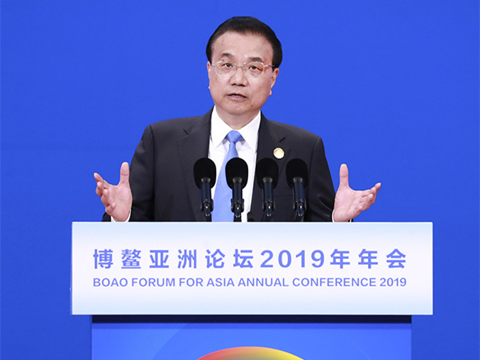 China to introduce supporting regulations for foreign investment law: Premier Li
