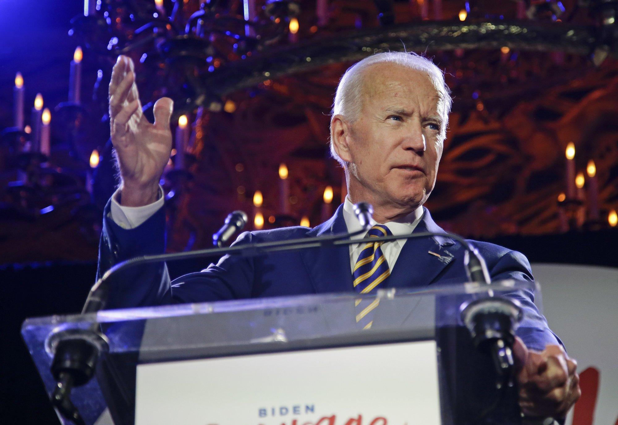Biden team views Iowa as crucial to securing 2020 nomination