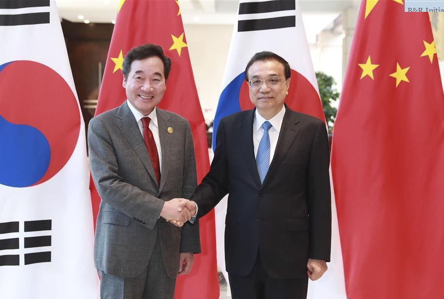 Chinese premier meets ROK prime minister