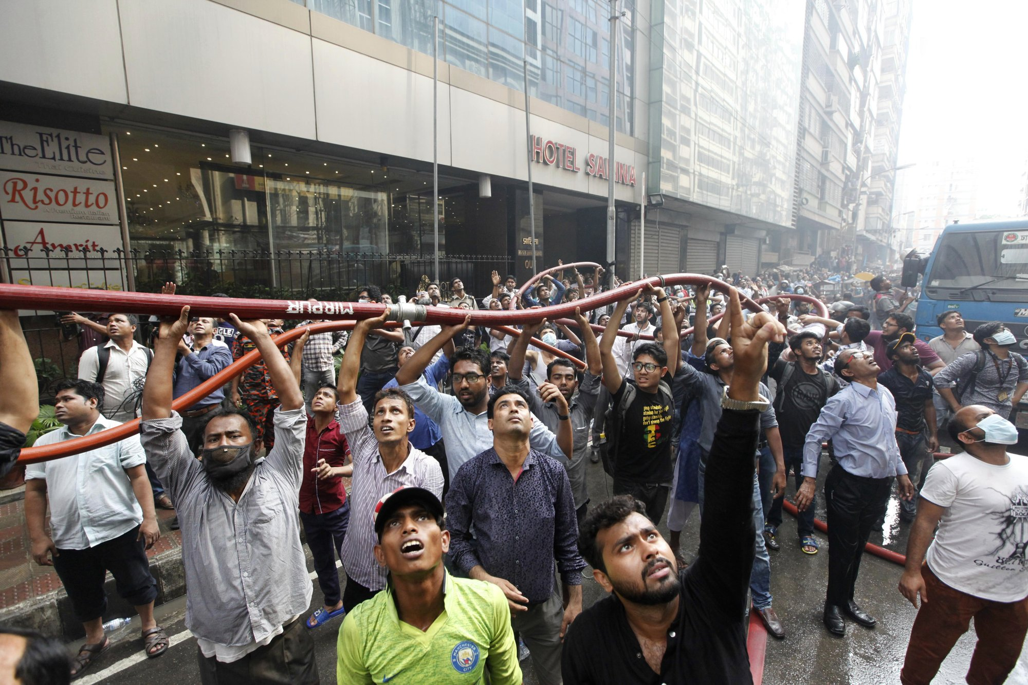Fire in Bangladesh high-rise fully controlled after 19 died