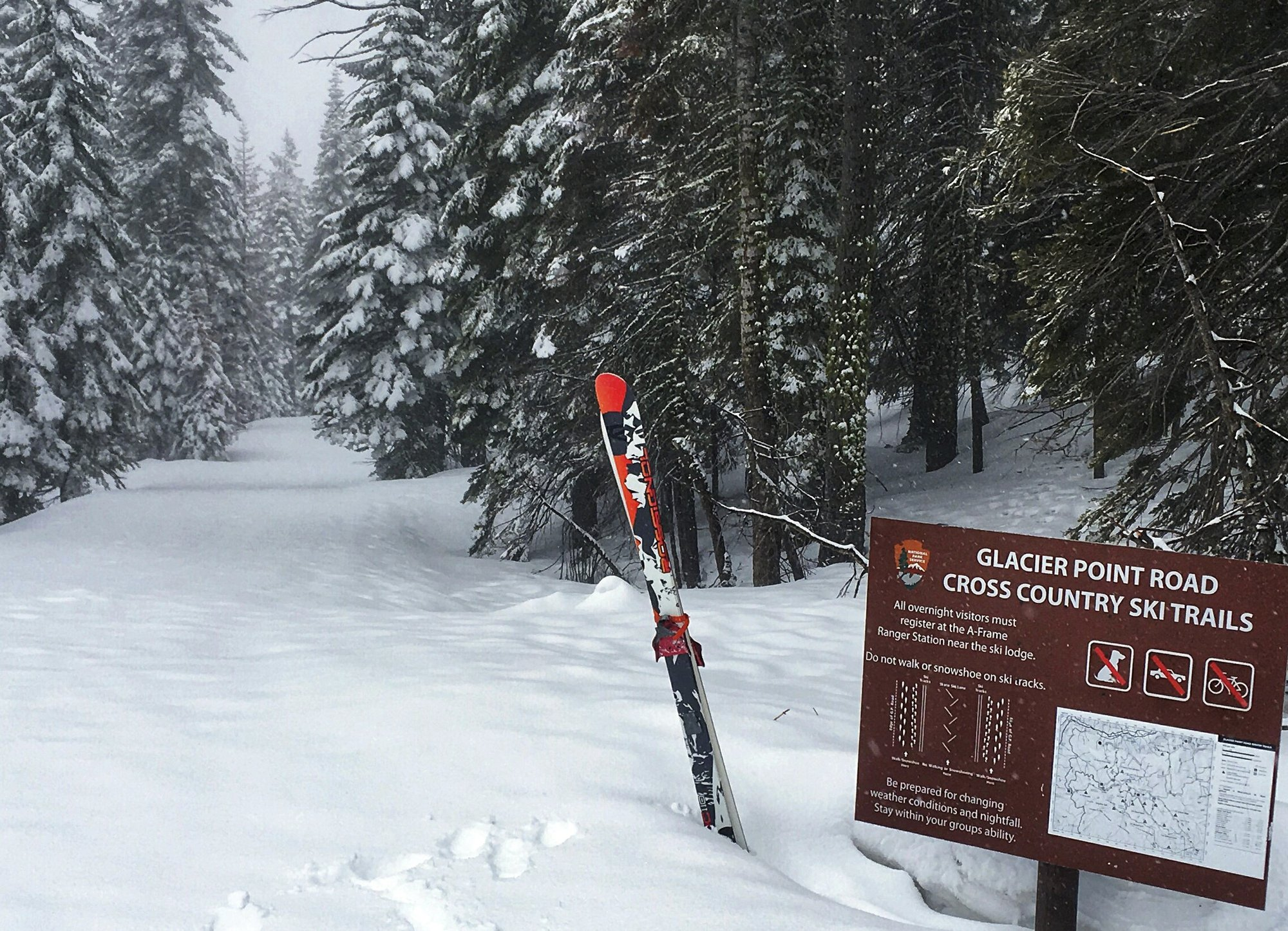 Yosemite to remain open for skiing 2 weeks longer
