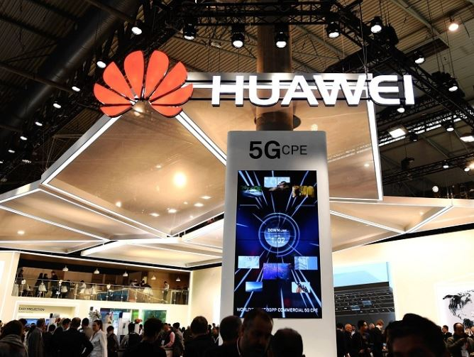 Huawei's rotating head addresses UK security concerns