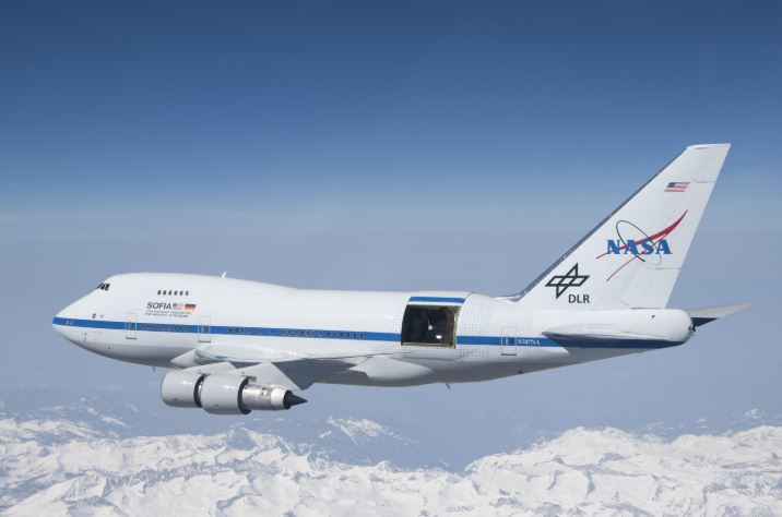 NASA camera on jetliner captures star formation in deep space