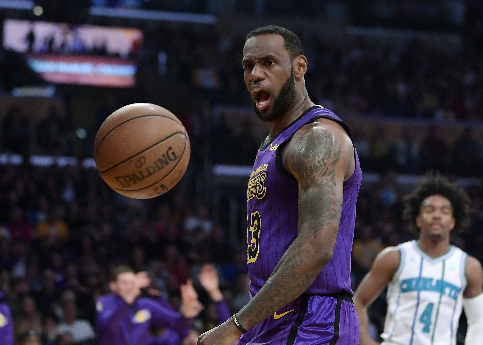 LeBron James to sit out rest of the season