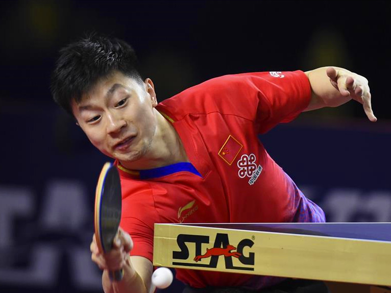 Highlights of men's single semifinal matches at Qatar Open
