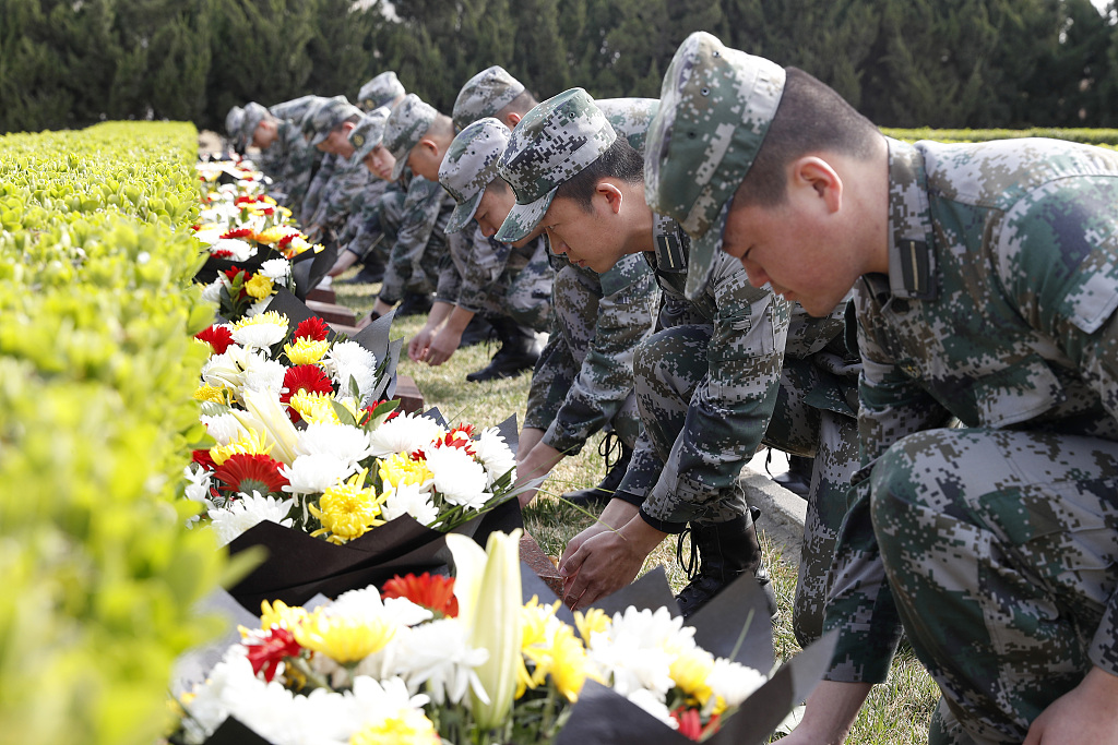 China promotes paying tribute to revolutionary martyrs ahead of Tomb-sweeping Day