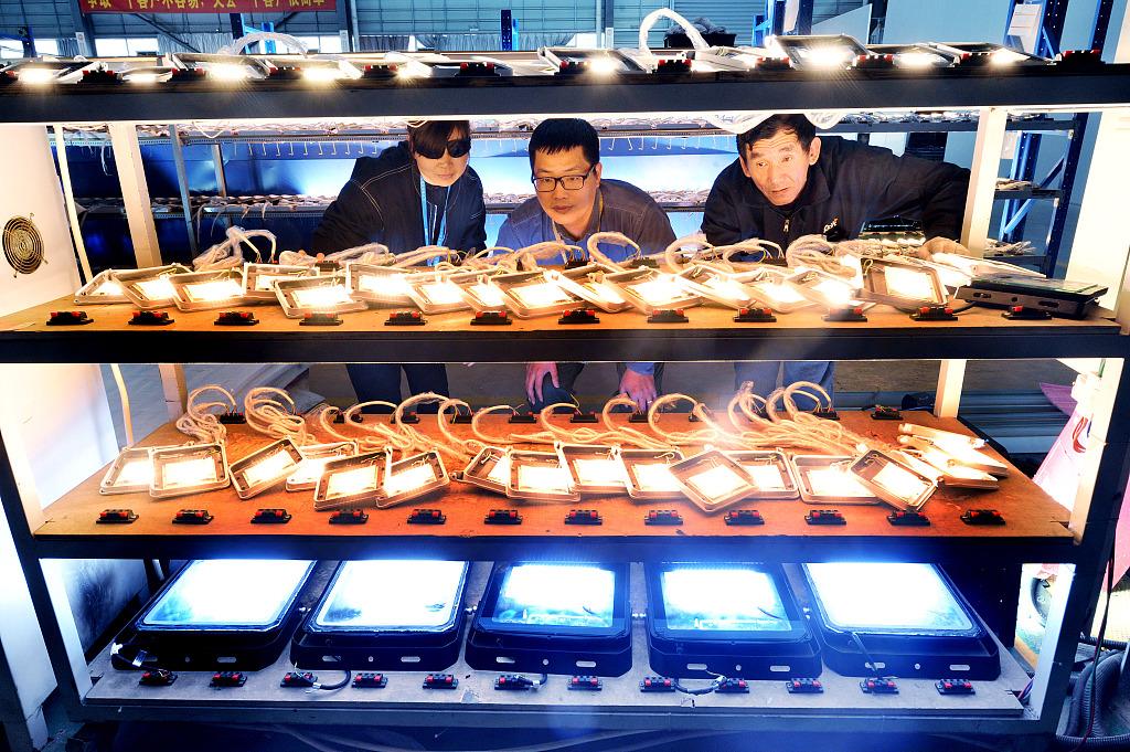 LED illuminated business