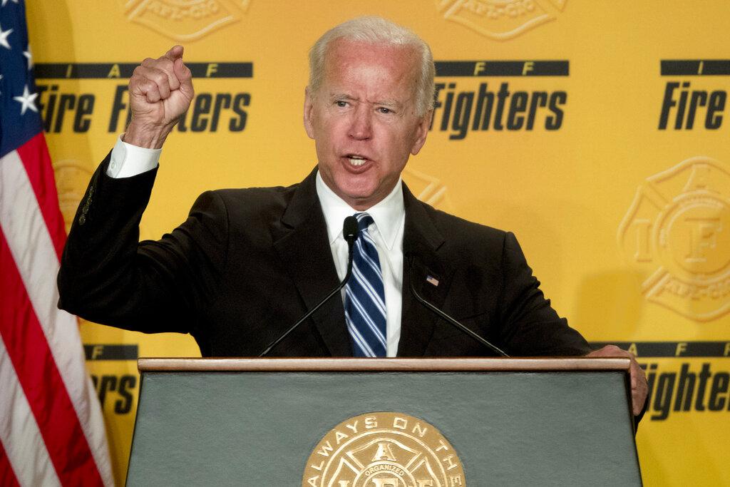 Biden defends his behavior with women