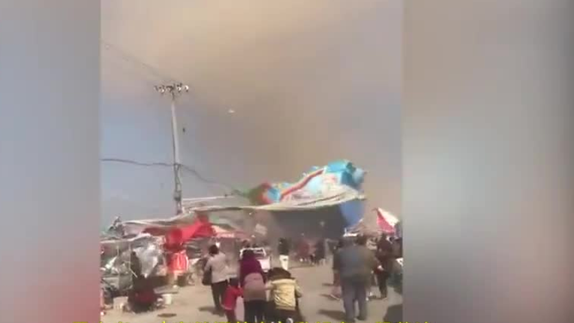 18 children, 2 adults injured after cyclone topples inflatable bouncer