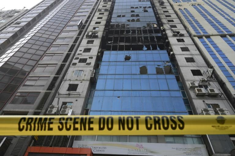 Bangladesh arrests owners of blaze-hit Dhaka tower