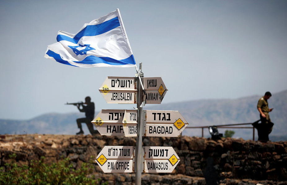EU rejects Trump's move to recognize Israeli sovereignty over Golan Heights