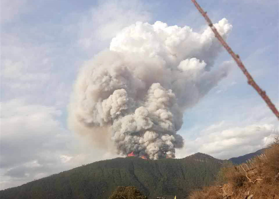 30 firefighters confirmed dead in forest fire in southwest China's Sichuan Province