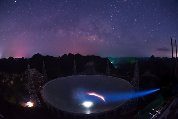 China enforces electromagnetic ban around world's largest telescope