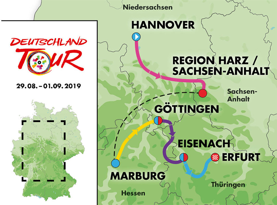 Tour of Germany 2019 to pay tribute to fall of Berlin Wall