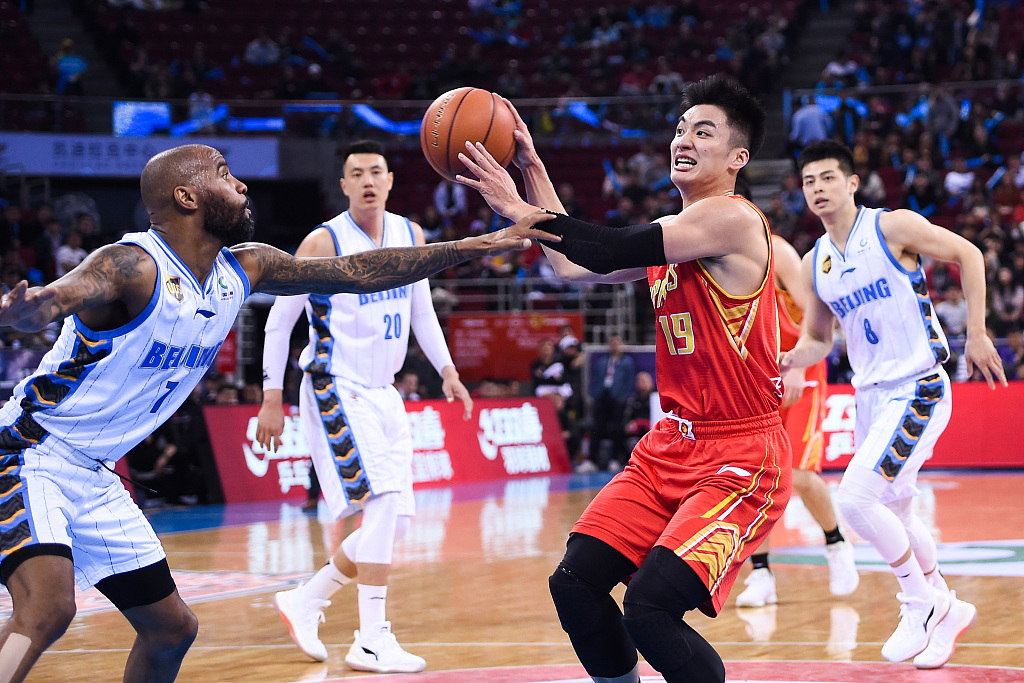 Shenzhen ties Beijing 2-2 in CBA quarter series