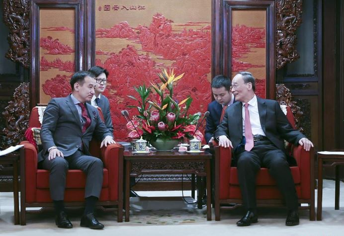 Chinese vice president meets Mongolian FM