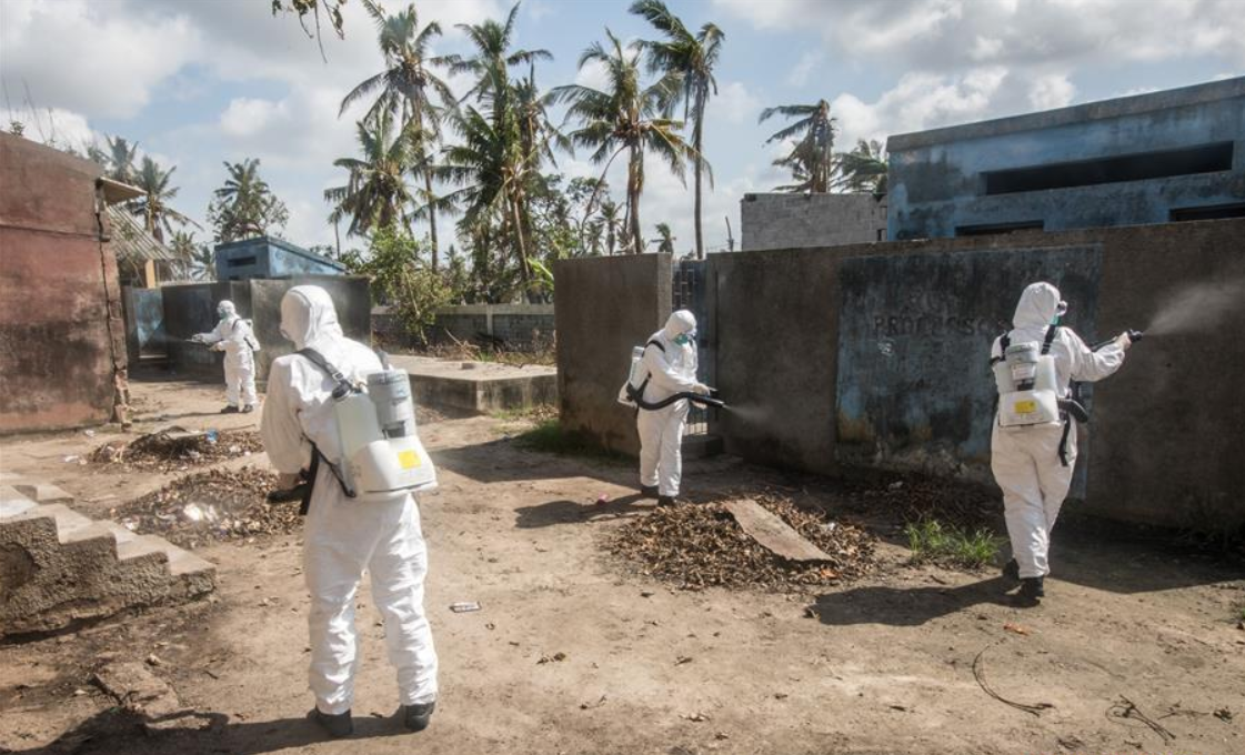 Chinese rescuers join Mozambicans to prevent epidemics following Idai disaster