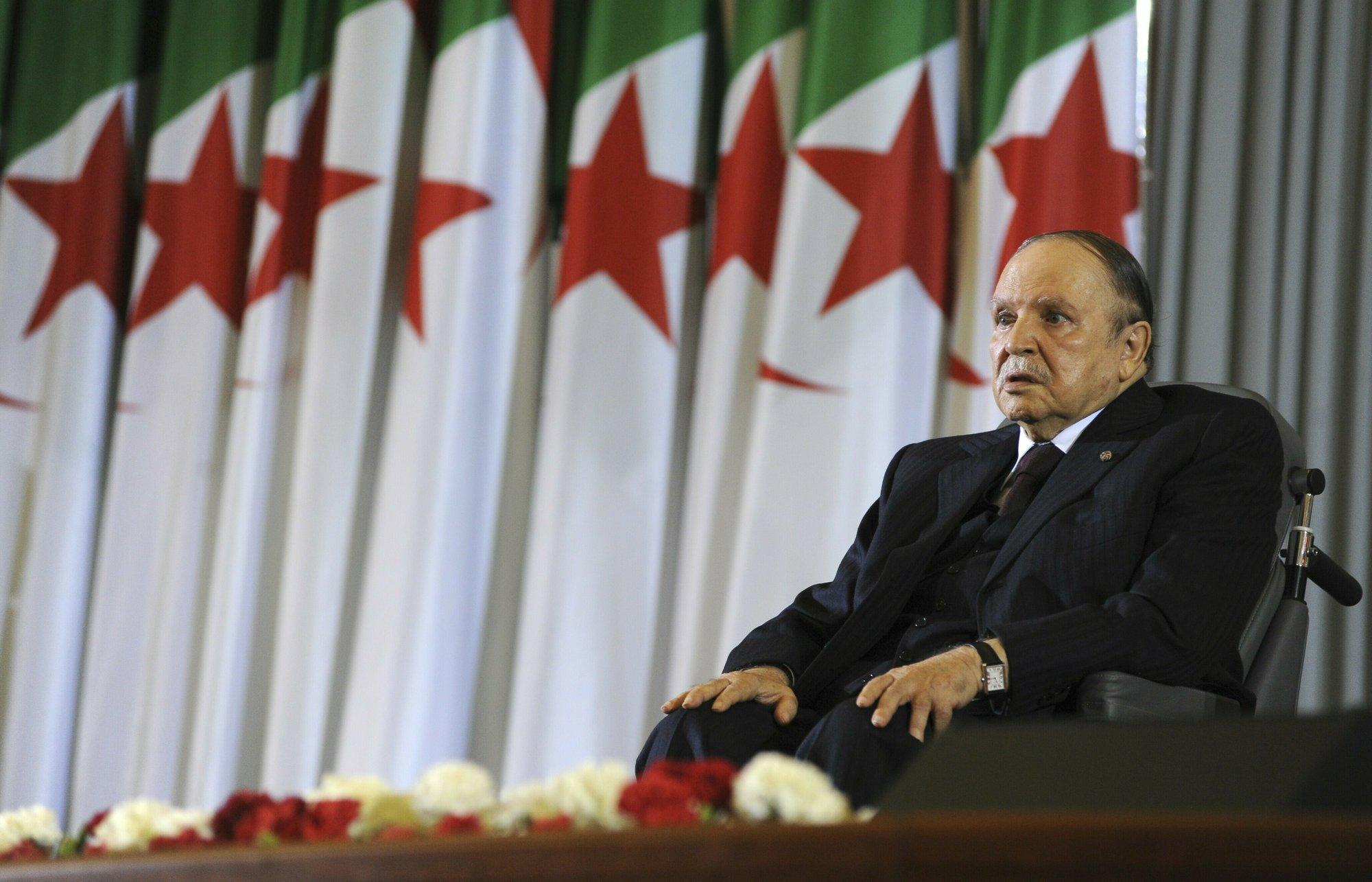 Algeria president says to resign before April 28