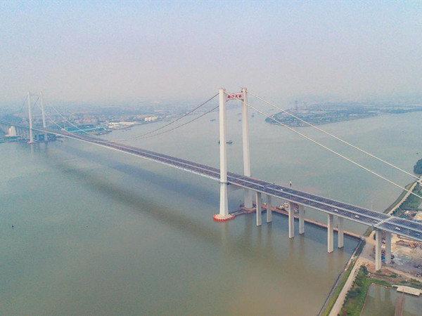 New bridge opens to boost transport in China's Bay Area