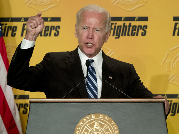 US house speaker says Biden should stop being touchy-feely with women