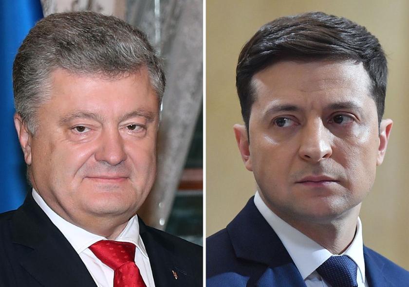 Runoff between Zelensky, Poroshenko likely in Ukrainian presidential race