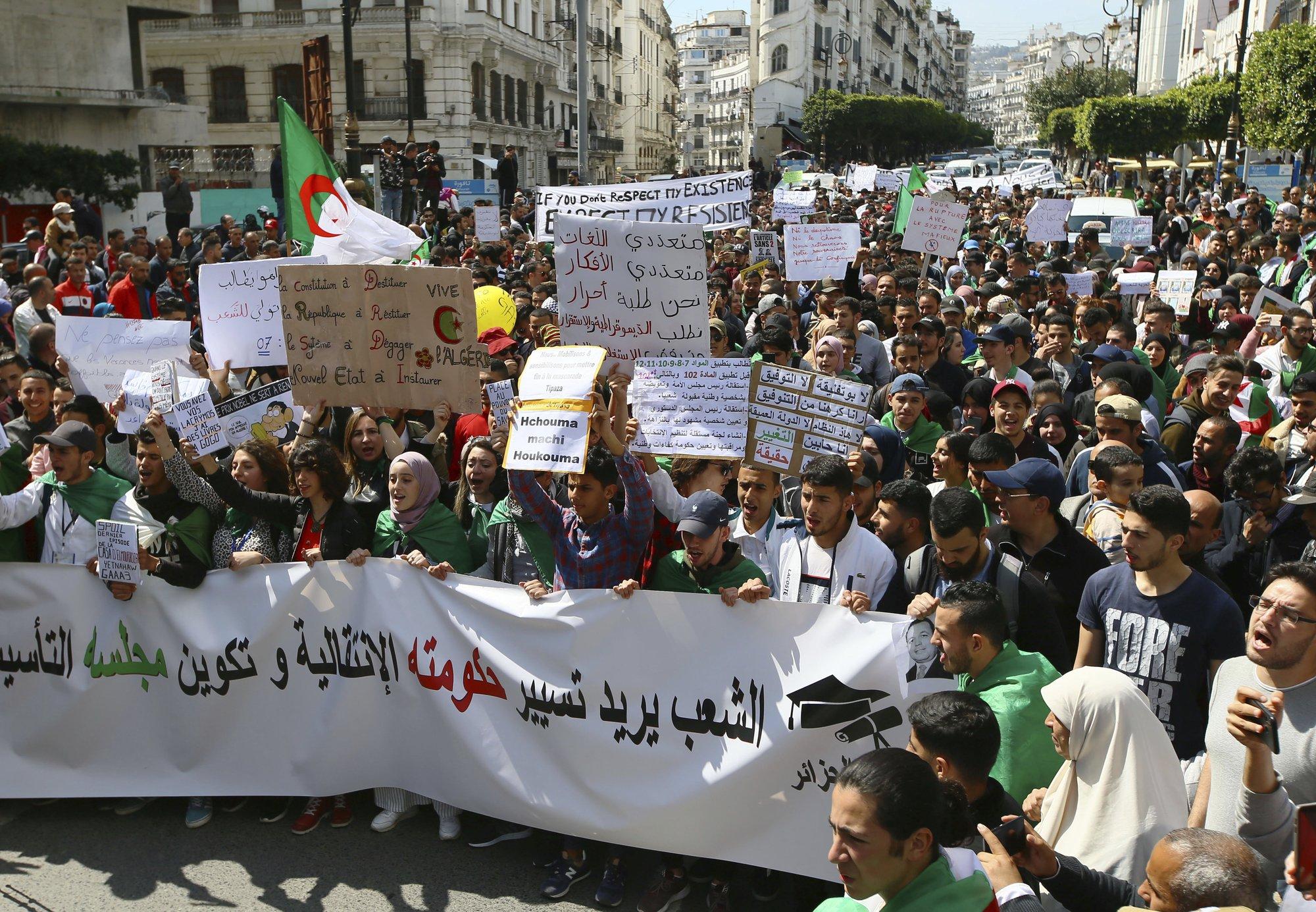 Algeria's Bouteflika resigns from presidency