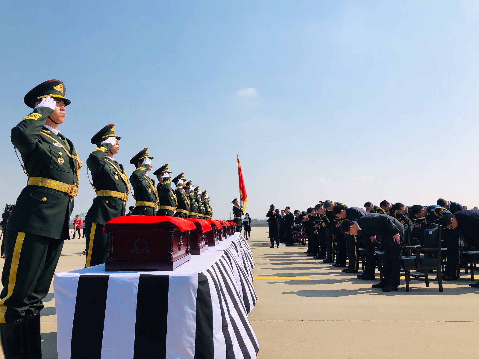 S. Korea returns 10 remains of Chinese soldiers killed in Korean War