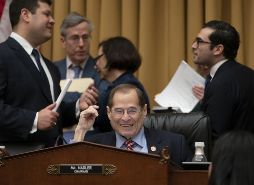 House Judiciary panel approves subpoenas for Mueller report